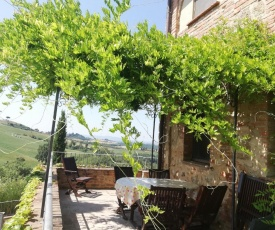 Holidays in apartment with swimming pool in Tuscany Siena