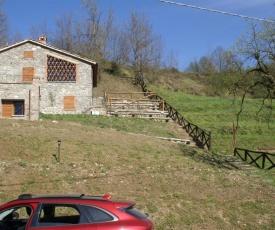 Tramonto Casa Barga Toscana ristrutturata 2021
