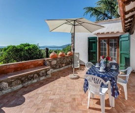 Detached villa in Ansedonia with sea view