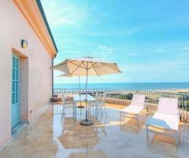 Apartment with one bedroom in Calambrone with wonderful sea view shared pool enclosed garden 180 m from the beach
