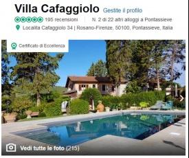 Villa Cafaggiolo apt BRUNELLESCHI