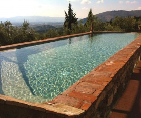 Villa with 2 bedrooms in Calenzano with private pool furnished terrace and WiFi